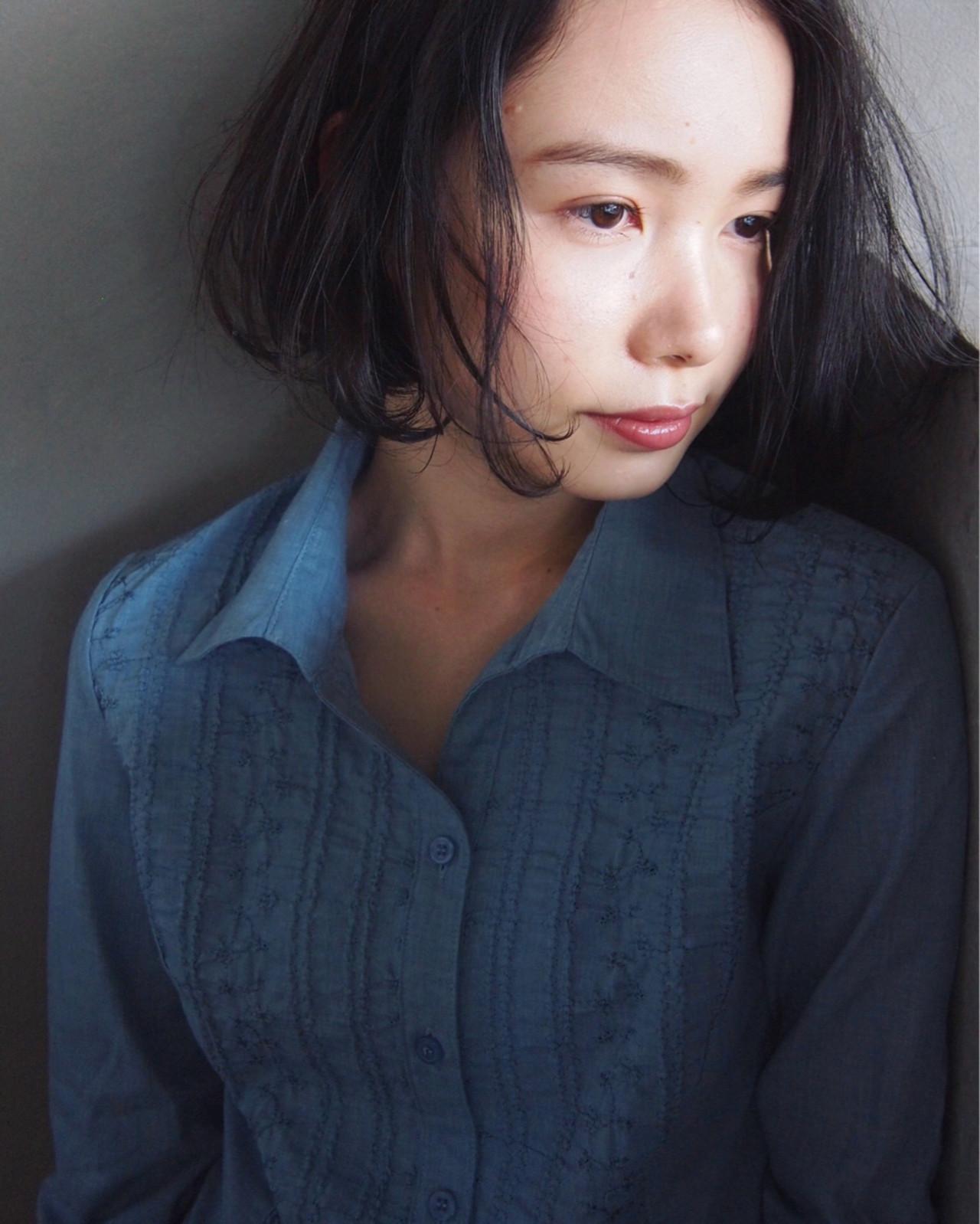 【ヘアカタログ】黒髪を活かしたヘアスタイル8選  UEKI/nanuk