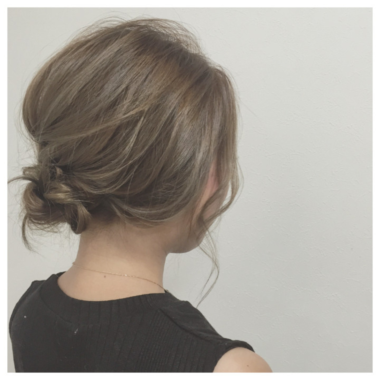 ミディアム ゆるふわ ヘアアレンジ 大人女子 ヘアスタイルや髪型の写真・画像