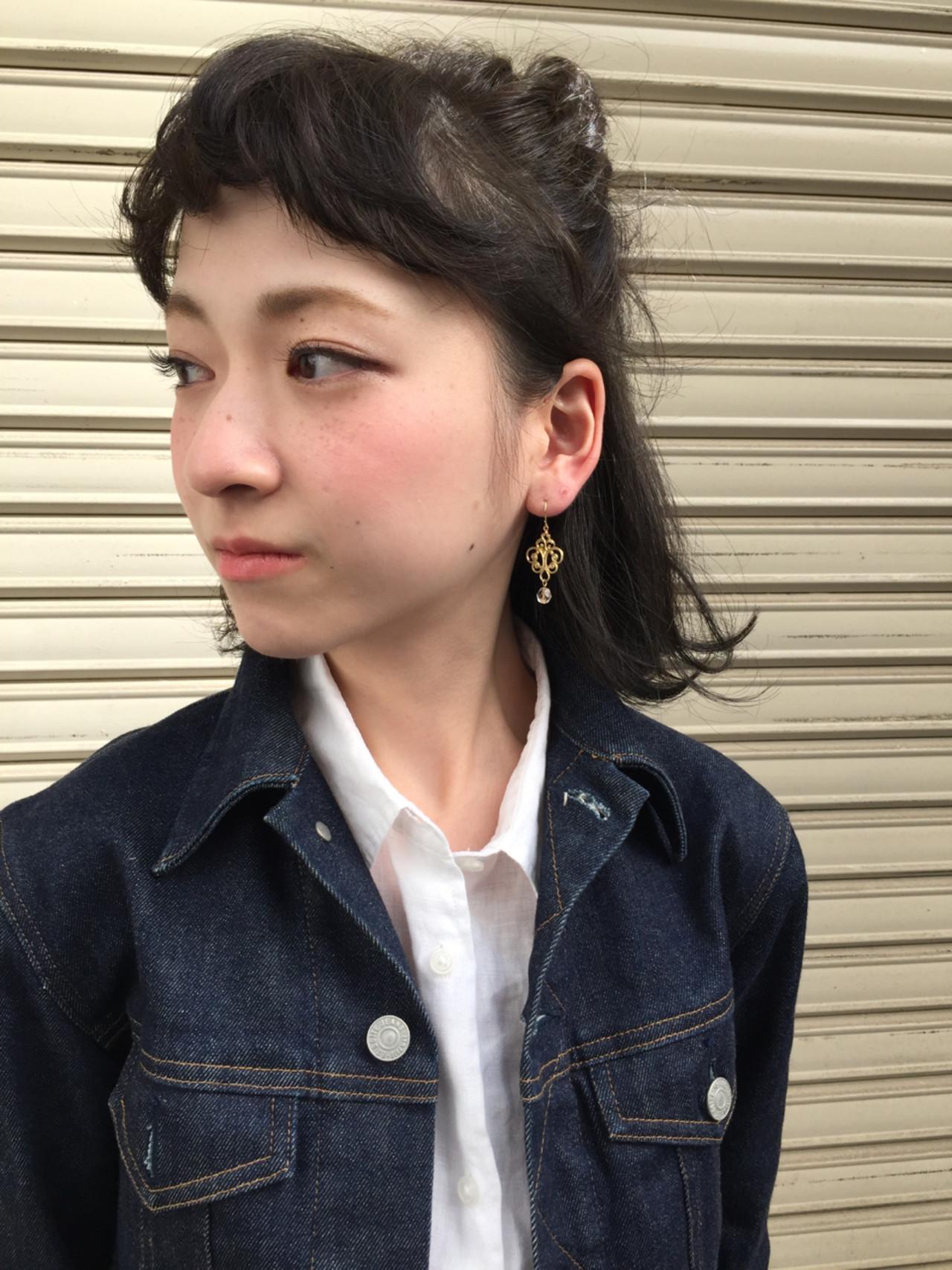 """""""ハーフアップ""""が大人女子におすすめな理由&スタイル紹介 YOSUKE KOJIMA"""