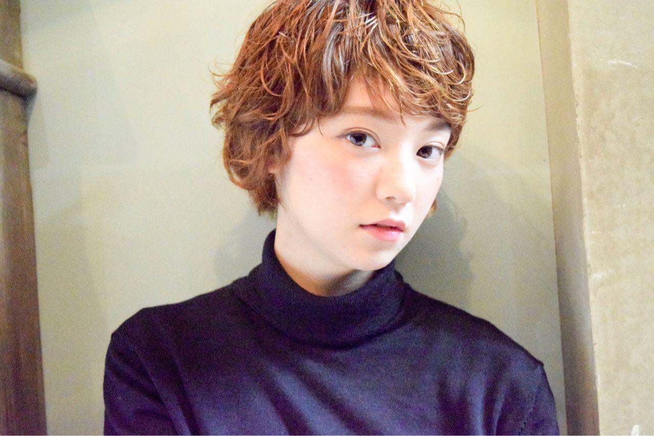 外国人風 ストリート パーマ ウェットヘア ヘアスタイルや髪型の写真・画像