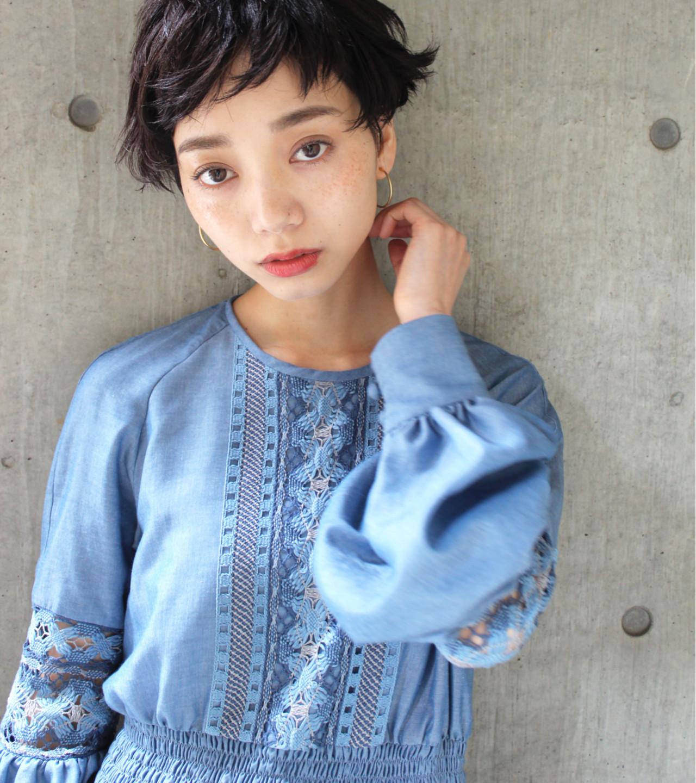 ショートもロングも♡おしゃれさんは取り入れている<斜め前髪> 永井 美菜子 bibito