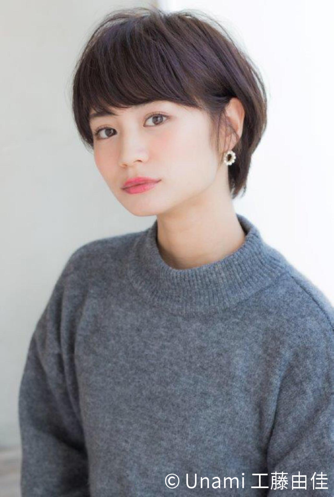 2017年は思いきってイメチェン!最旬ショートヘアのヘアカタログ  Unami 工藤由佳