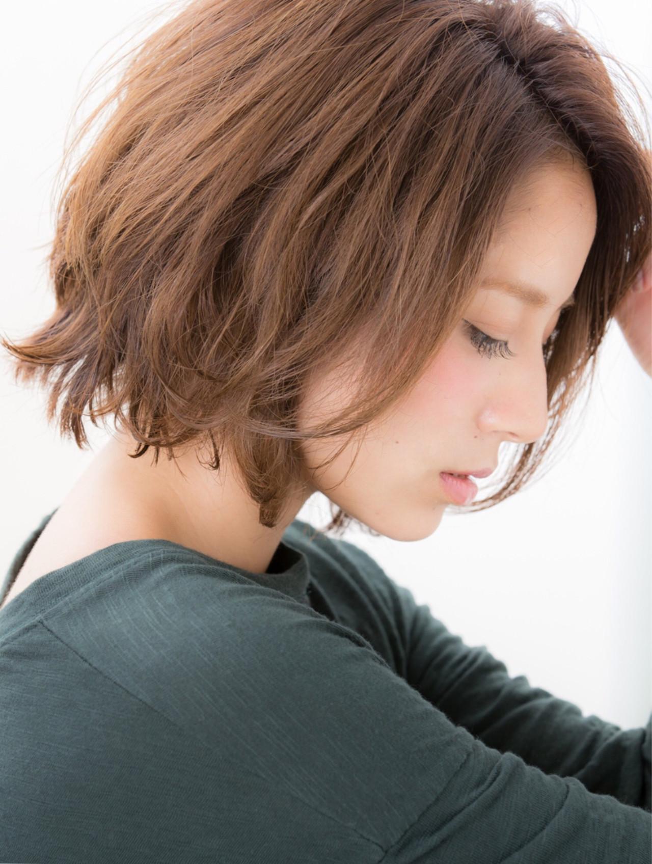 【2017春夏トレンド】大人かわいい最新ショートボブ10選 宮本 誉志成