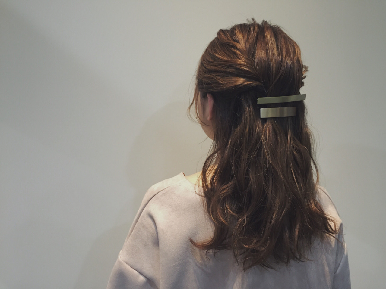 時間がなくても大丈夫♡ミディアムヘアのアレンジが簡単にできちゃう技 大西 絢子/HOULe