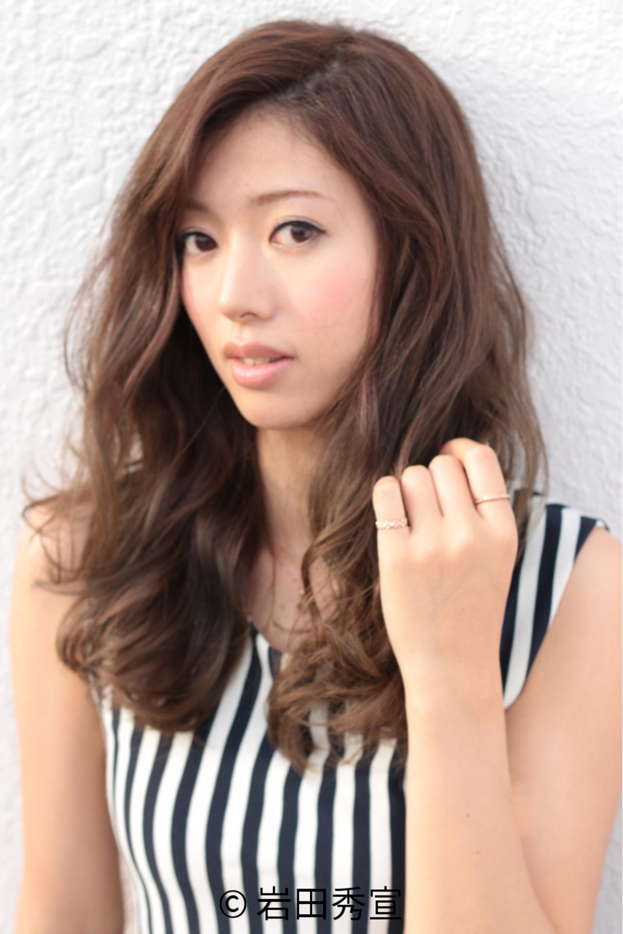 前髪なしのモテスタイル♡長さ別で比べてみました 岩田秀宣
