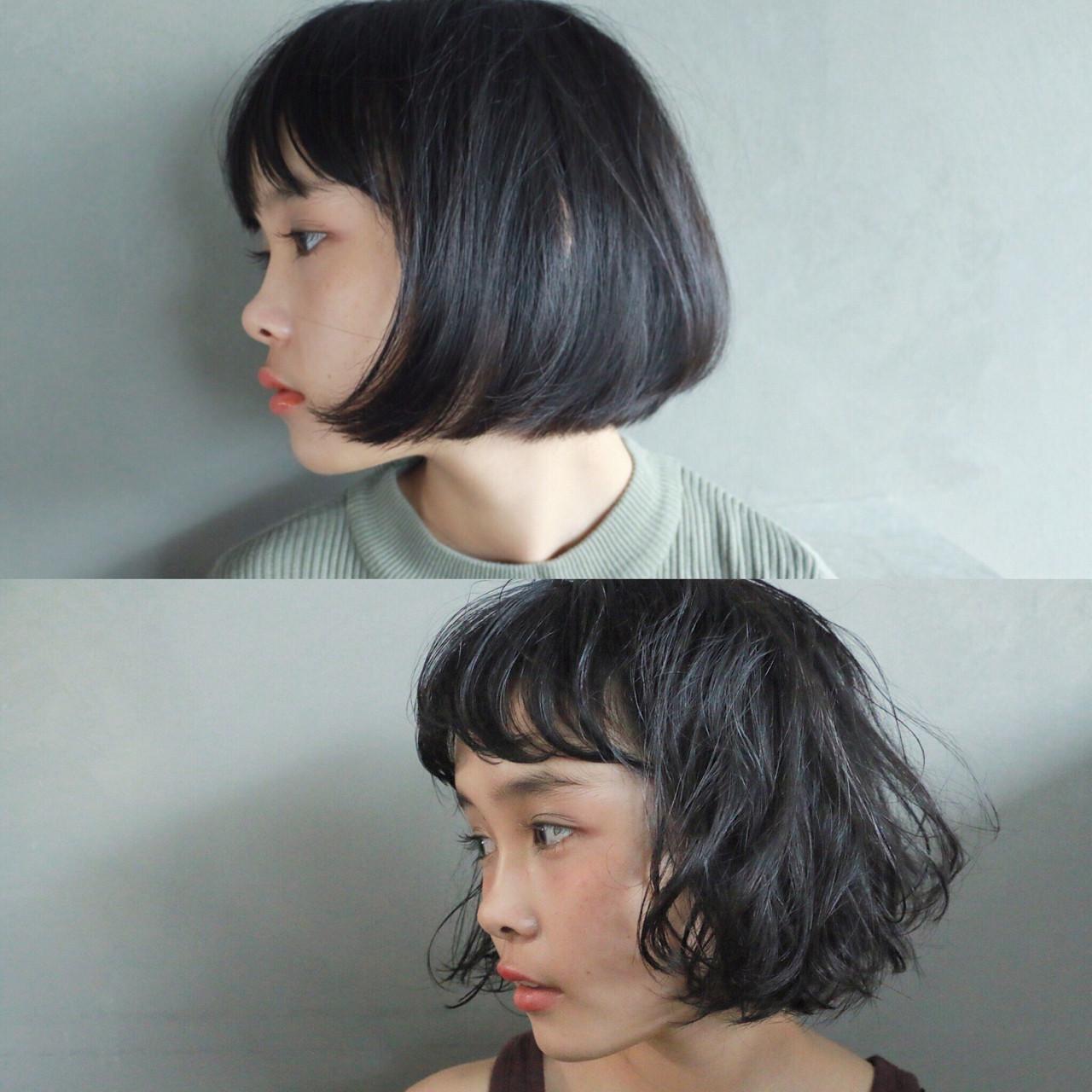 ナチュラル ゆるふわ 暗髪 グレー ヘアスタイルや髪型の写真・画像