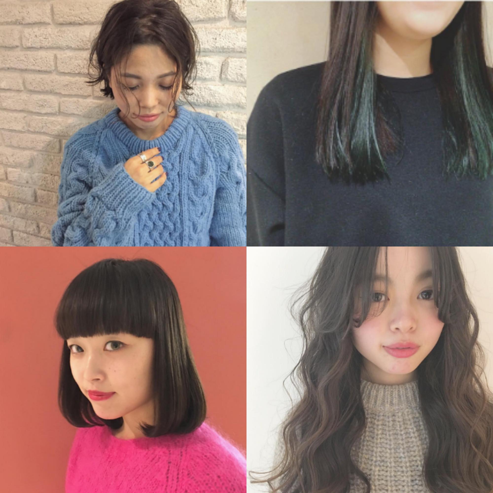 """他の女性と差をつけたいあなたへ。「MASHU」「Atoro」お洒落女性スタイリストさんからおすすめ""""春の黒髪ヘアスタイル""""♡"""