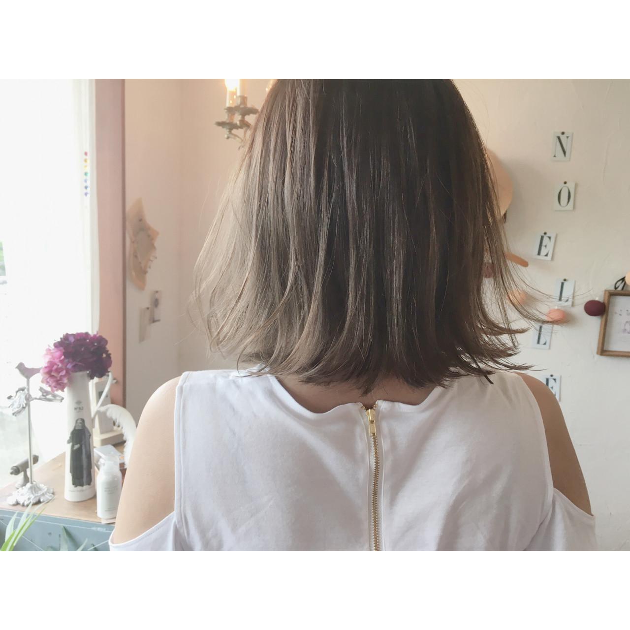 マットアッシュカラーは透明感×抜け感で最新トレンドスタイルへ♡ 川内道子 instagram→michiko_k
