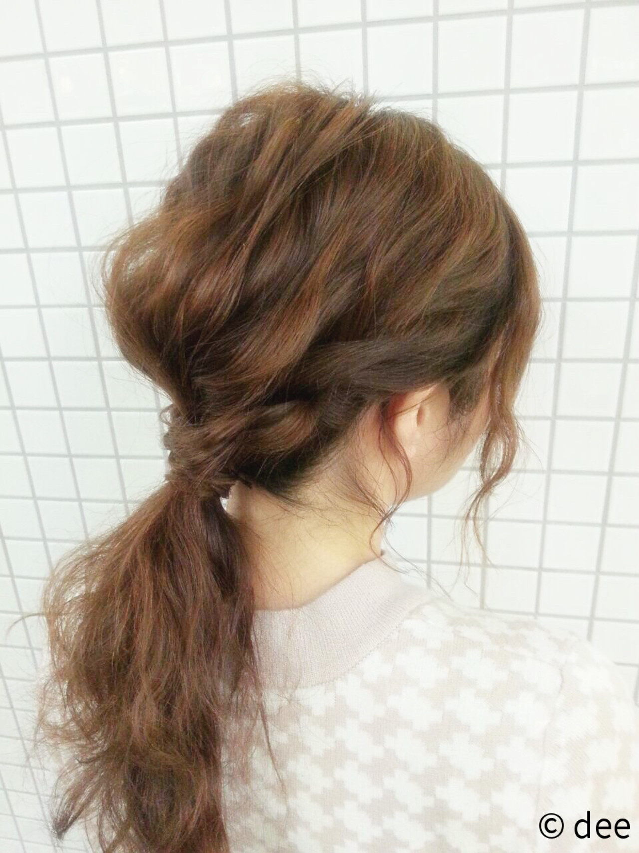 編み込みヘアアレンジが自分でできちゃう♡簡単な方法レッスン dee