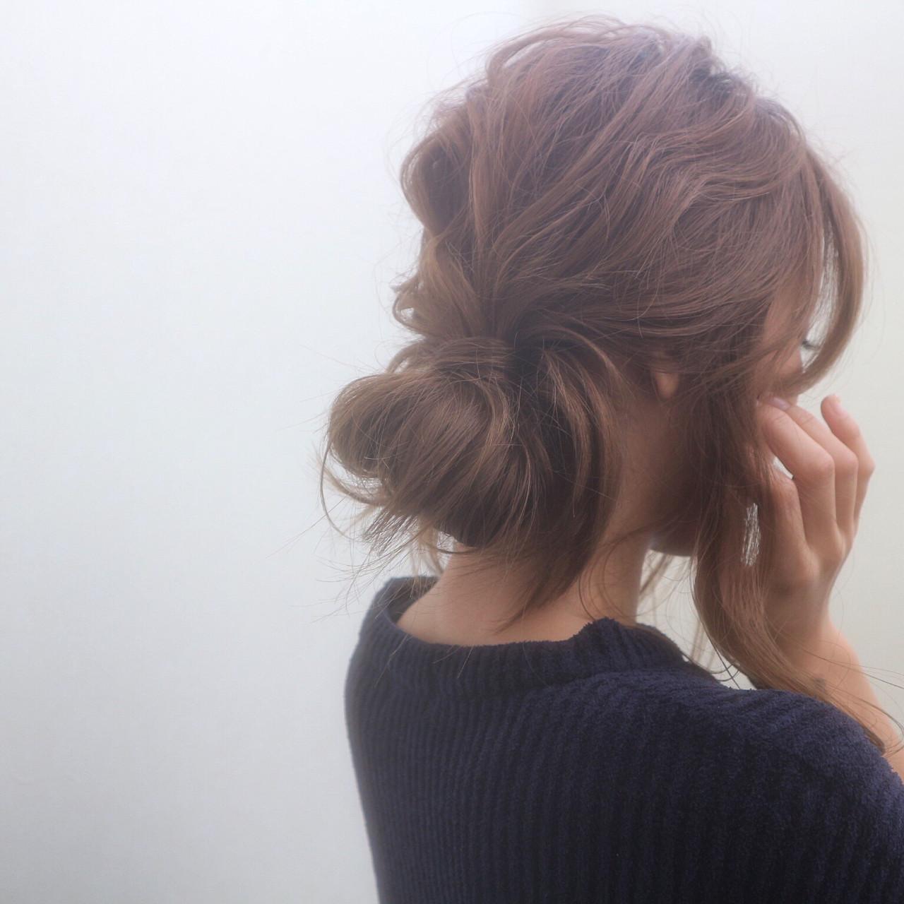 ナチュラル セミロング ゆるふわ 外国人風 ヘアスタイルや髪型の写真・画像