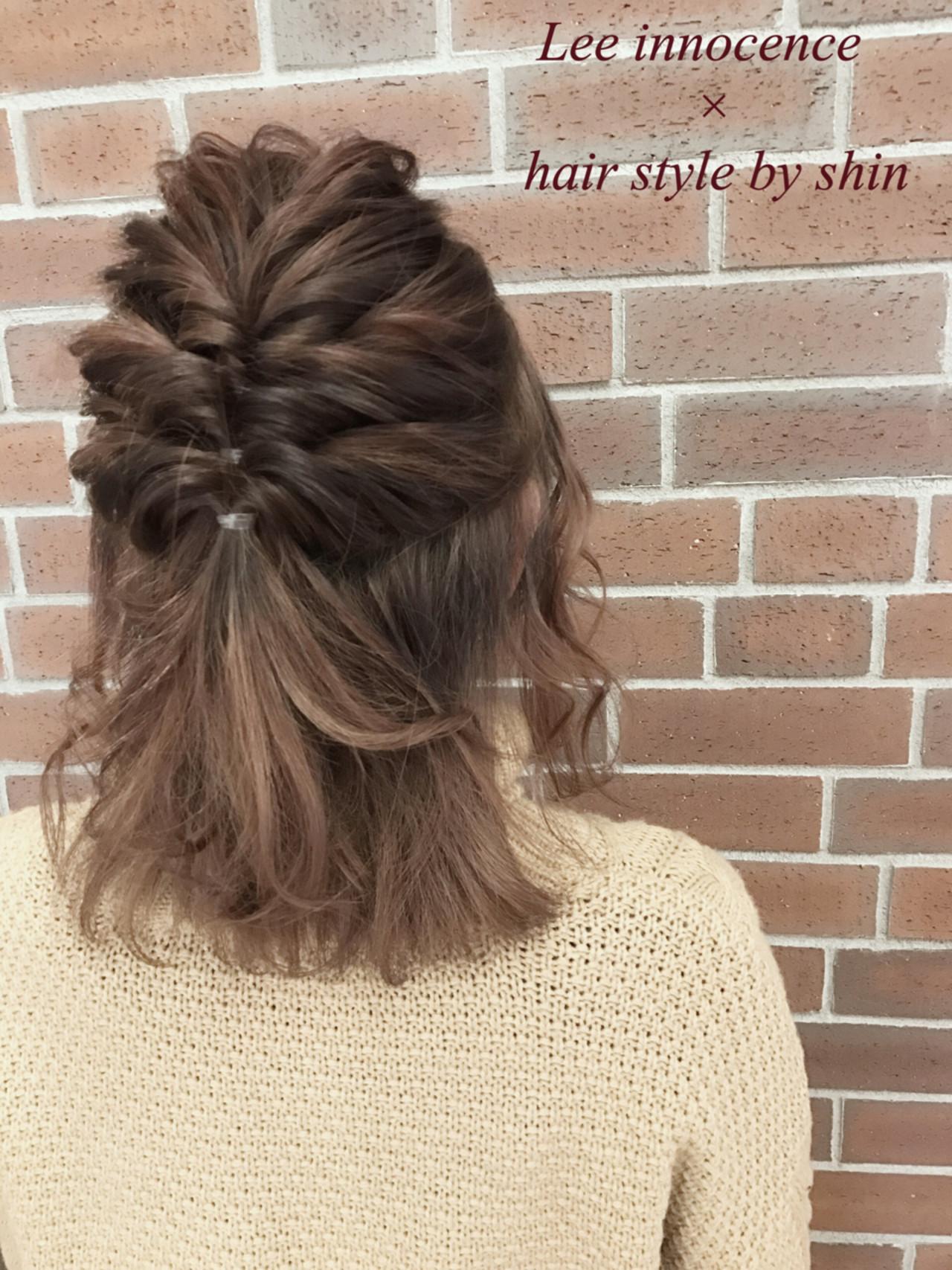 夏の予感がしたら髪型アップで出かけたい♡カジュアルアップヘアアレンジHOWTO Lee innocence 宮本伸一(shin)
