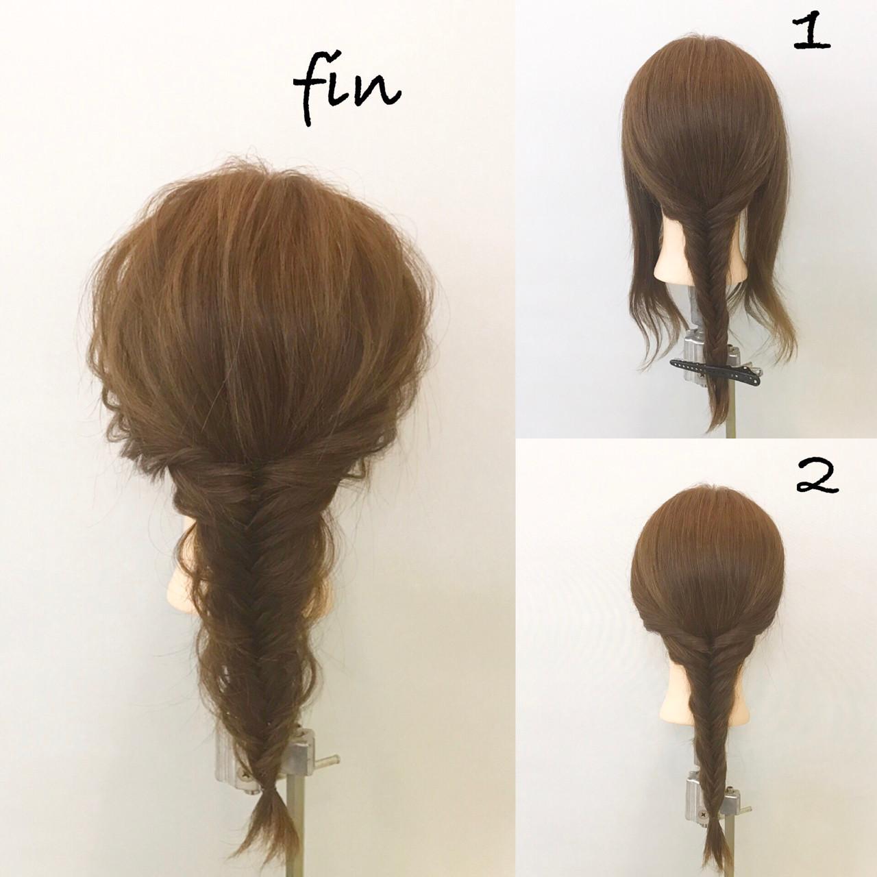 自分の髪型を大変身!簡単にできちゃう可愛いヘアアレンジ方法♡ 新谷 朋宏