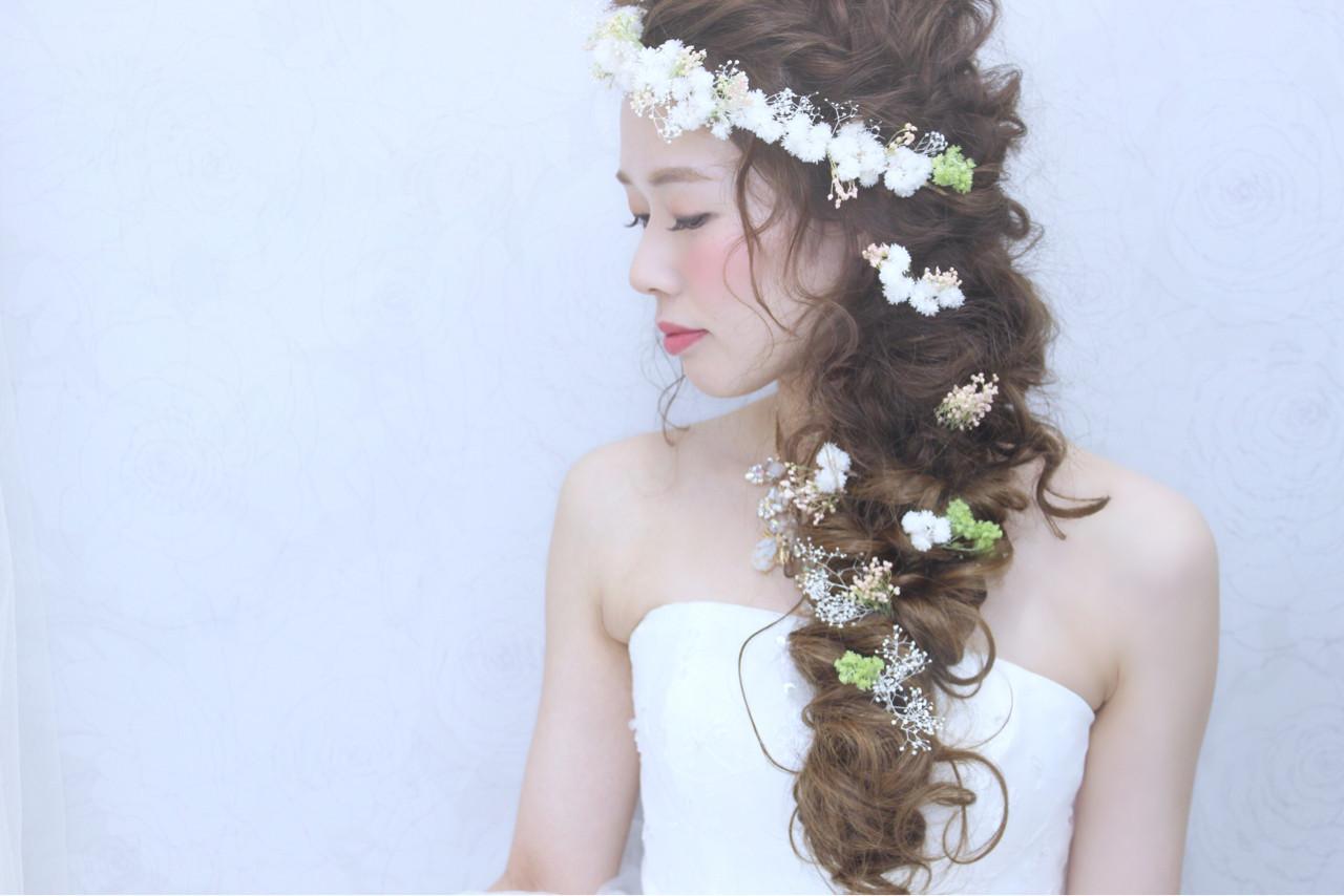 一生の思い出となる髪型へ。花嫁さん向けのアレンジスタイル10選