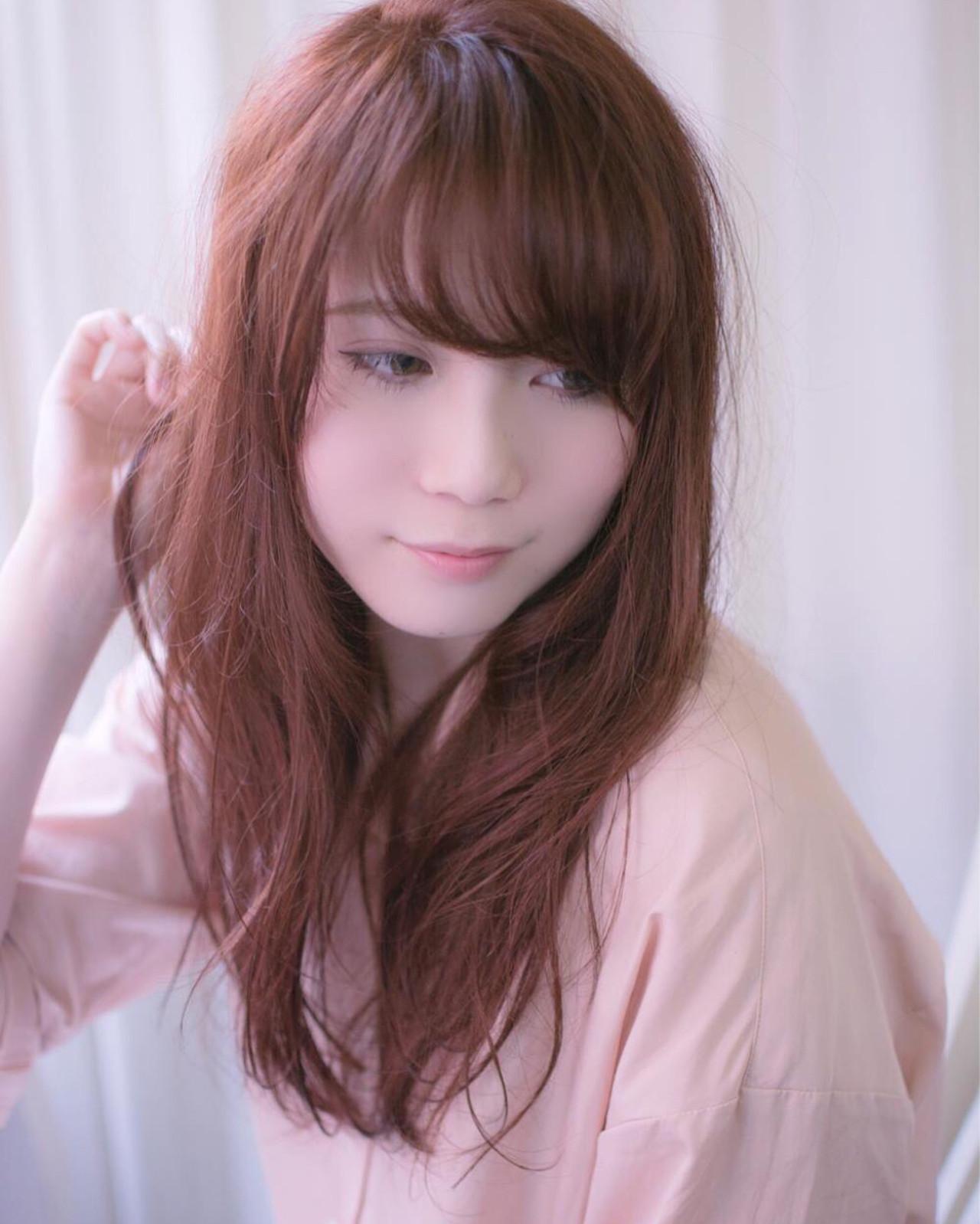 髪色ピンクで春はじめました♡ほんのり系もネオ系も叶う女子カラー 田渕 英和/vicushair