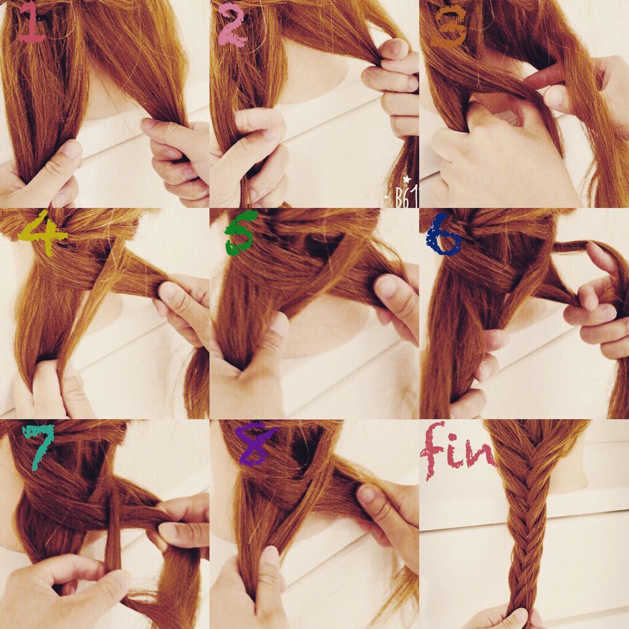 自分の髪型を大変身!簡単にできちゃう可愛いヘアアレンジ方法♡ いまむ