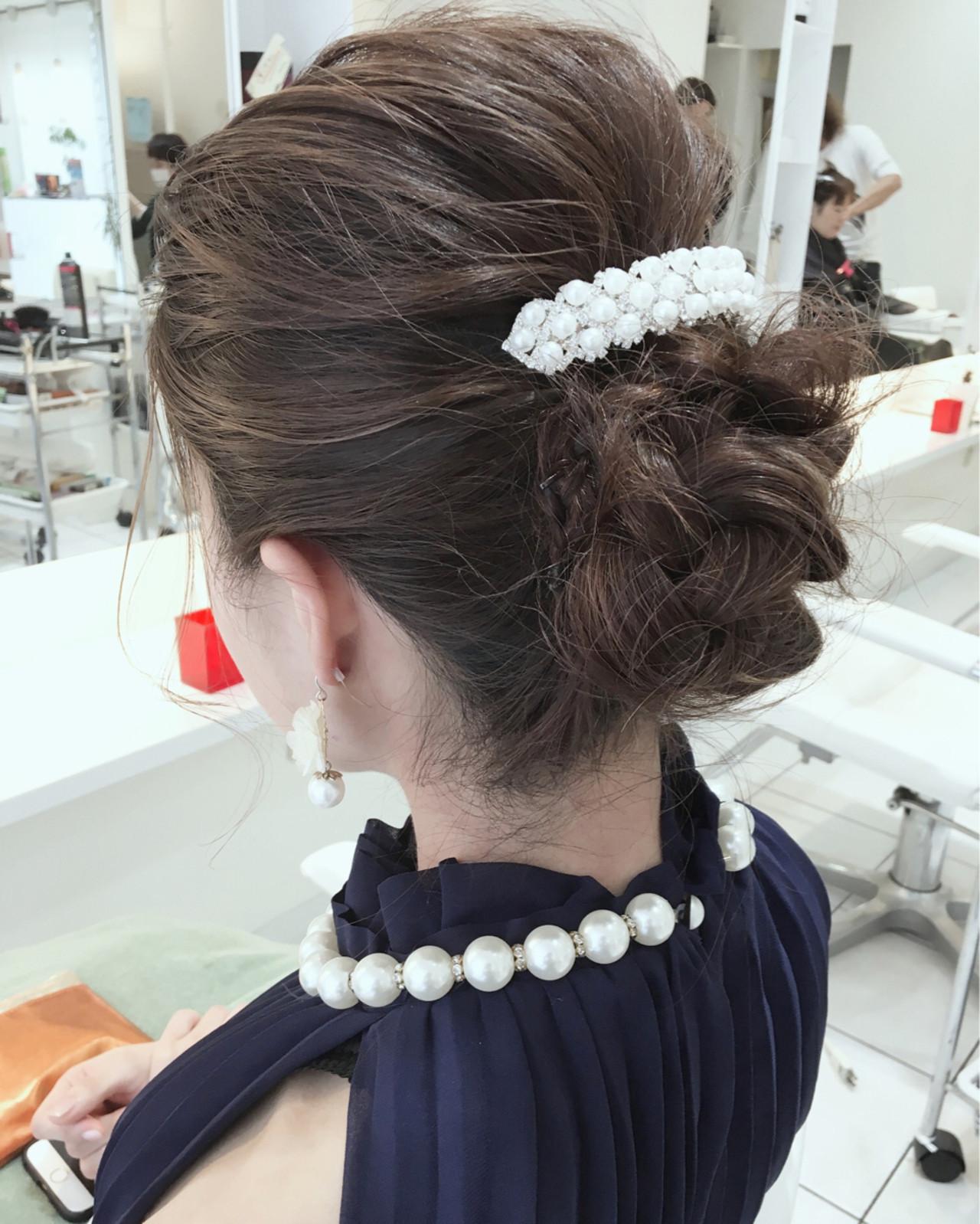 ハーフアップ 大人女子 簡単ヘアアレンジ 編み込み ヘアスタイルや髪型の写真・画像