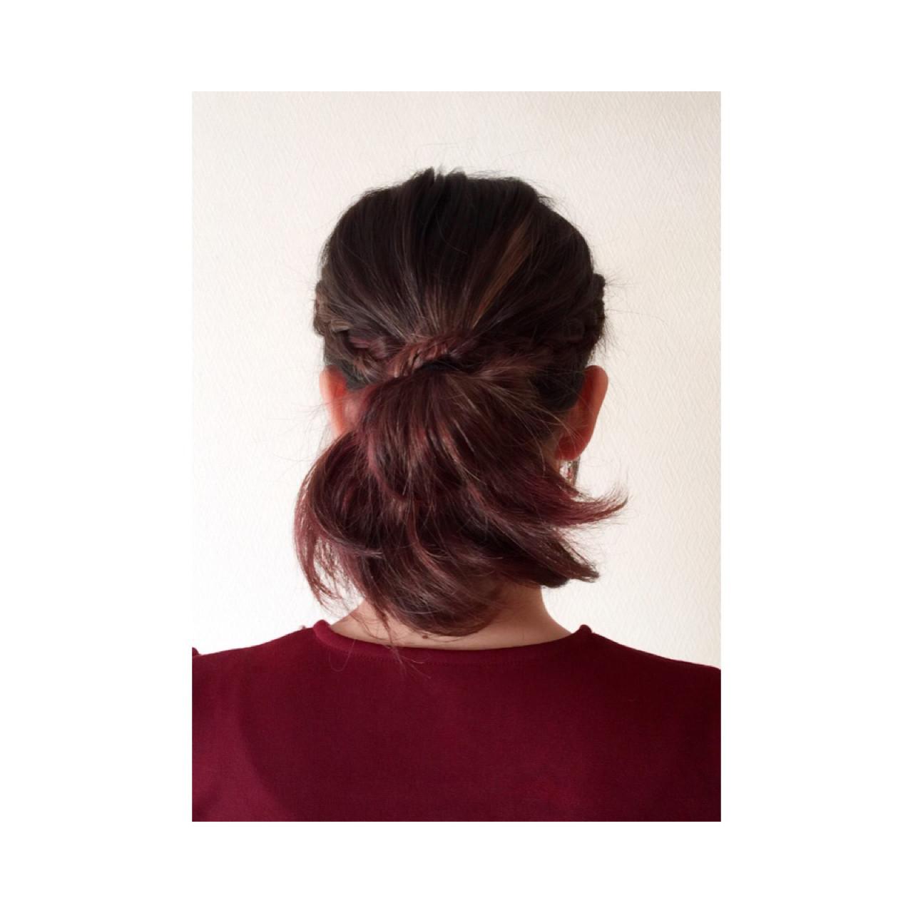 編み込みヘアアレンジが自分でできちゃう♡簡単な方法レッスン yurika