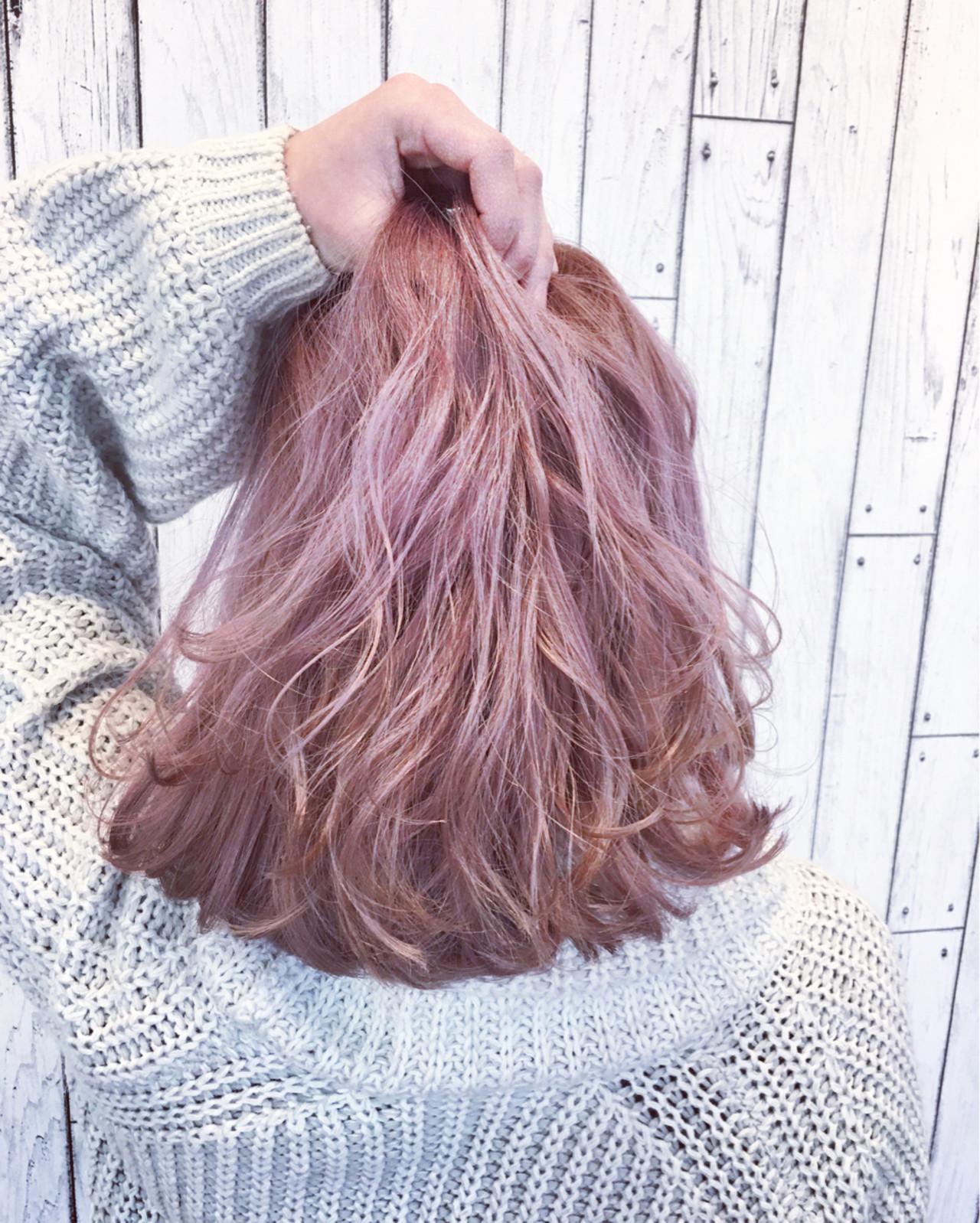 外国人風 ガーリー ハイトーン 渋谷系 ヘアスタイルや髪型の写真・画像