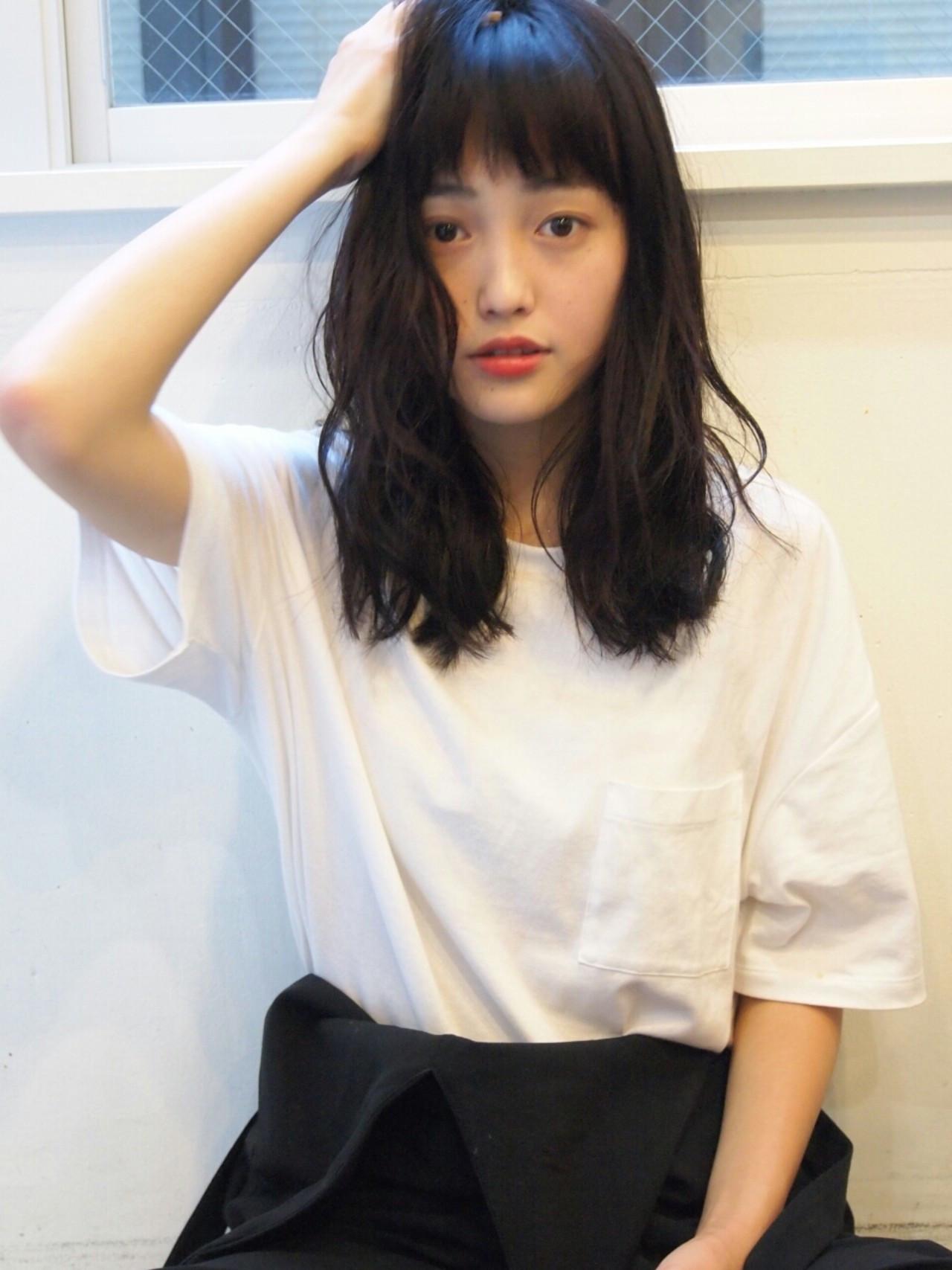 黒髪美人スタイルで今年の春夏を迎えよう♡しなやかな黒髪ヘアカタログ 井上 雄輝/tsumiki 渋谷
