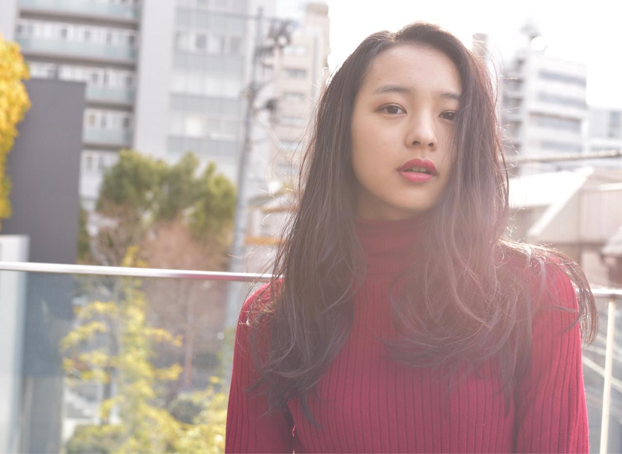 黒髪美人スタイルで今年の春夏を迎えよう♡しなやかな黒髪ヘアカタログ 小島翔一郎