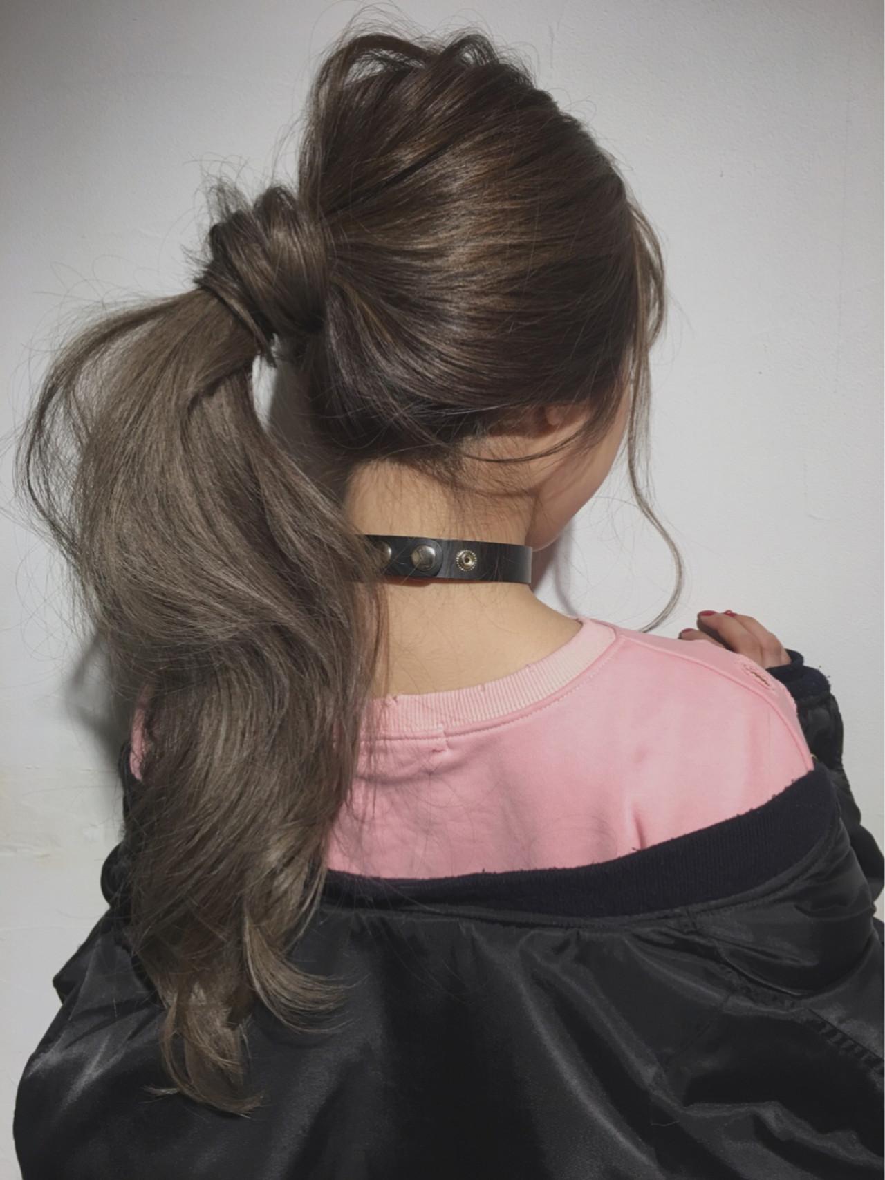 アッシュ ショート ロング 大人女子 ヘアスタイルや髪型の写真・画像