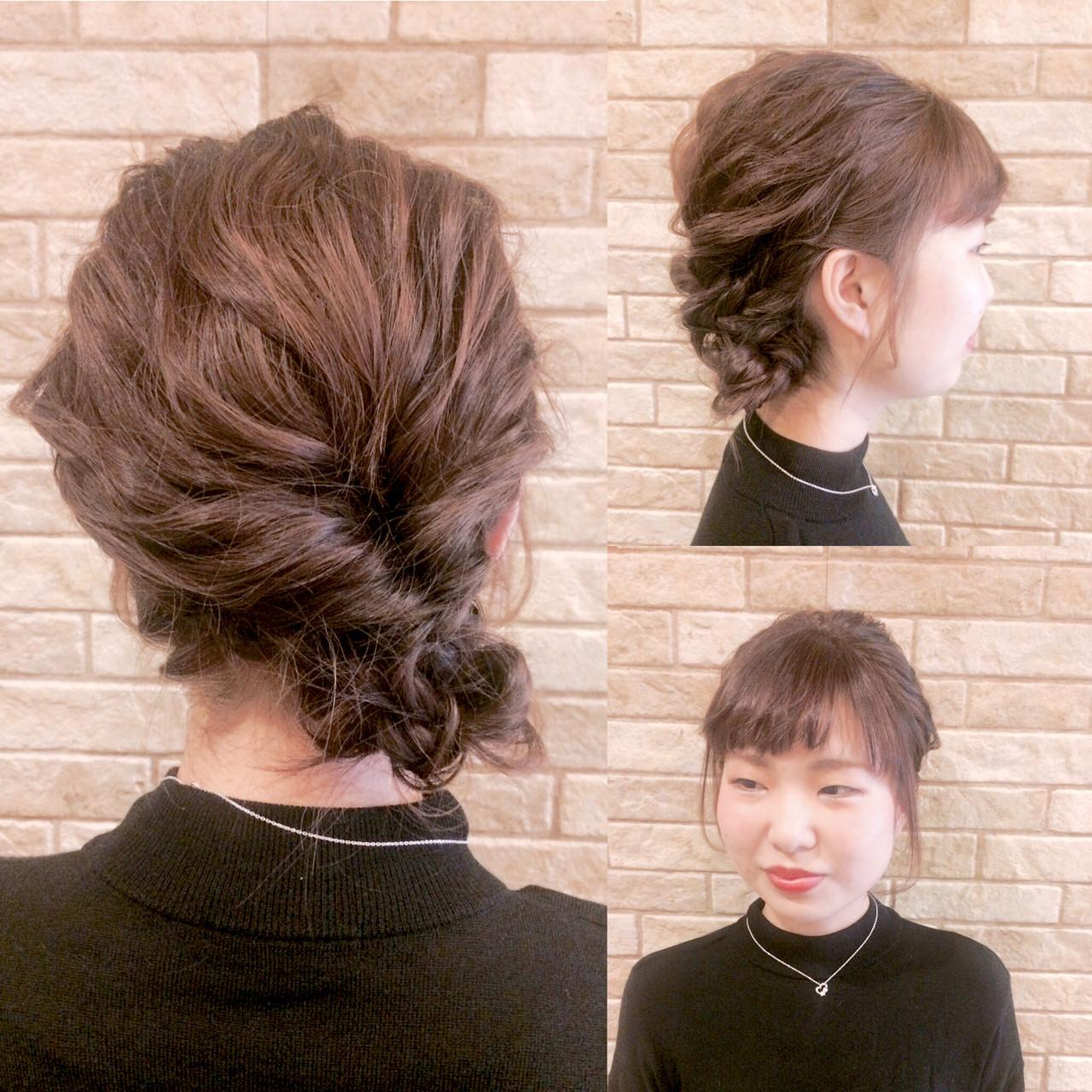 セルフで簡単!可愛いヘアアレンジで新しい季節を楽しんじゃおう♡ 中村香奈子