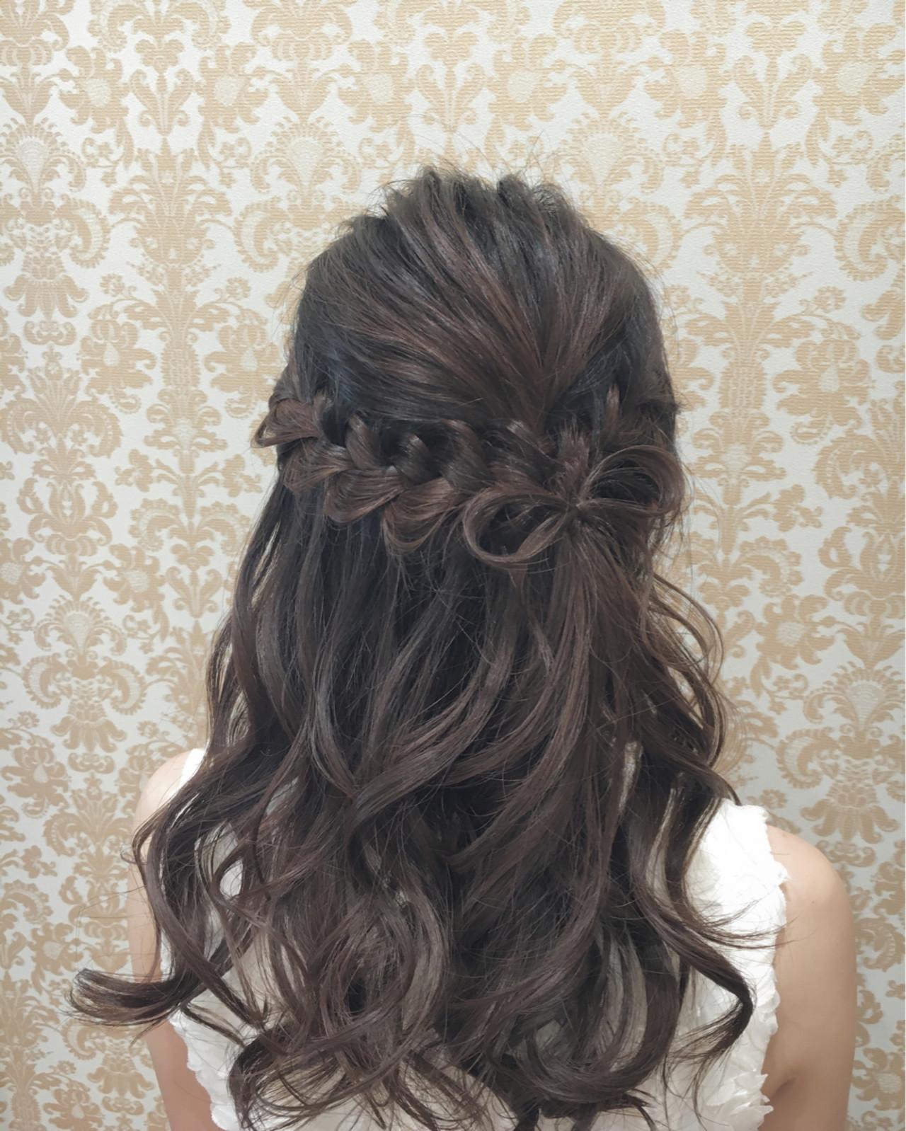 フェミニン 外国人風 簡単ヘアアレンジ ヘアアレンジ ヘアスタイルや髪型の写真・画像