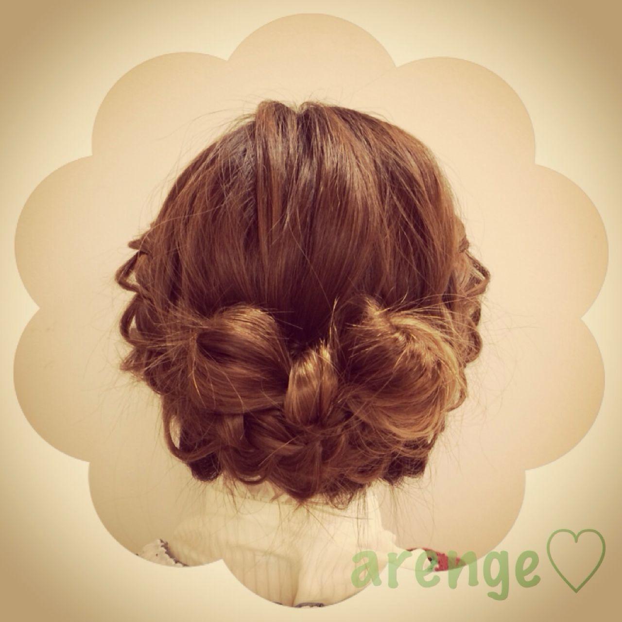モテ髪 アップスタイル コンサバ ヘアアレンジ ヘアスタイルや髪型の写真・画像