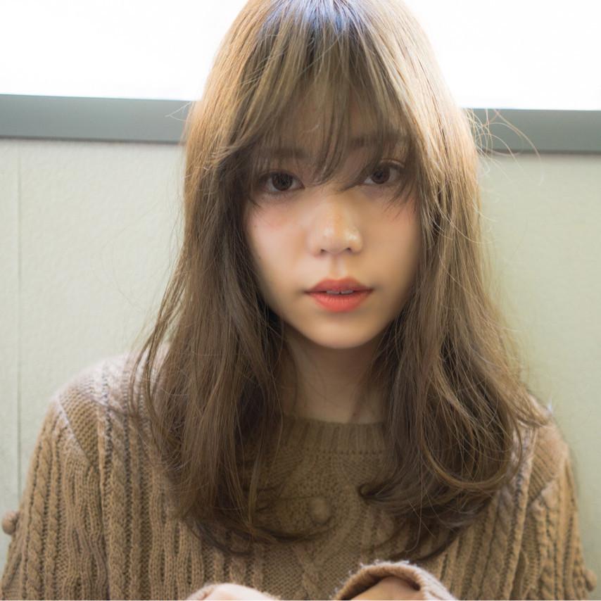 レングス別「春」のシルクブラウンカラー♡透明感のあるヌーディー色がいまのトレンド!