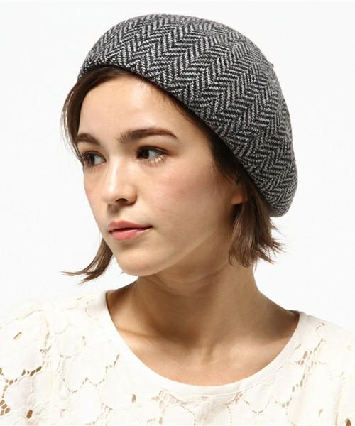 大切なのはバランス!ショートヘアのベレー帽ヘアスタイル 出典:SHIPS for women