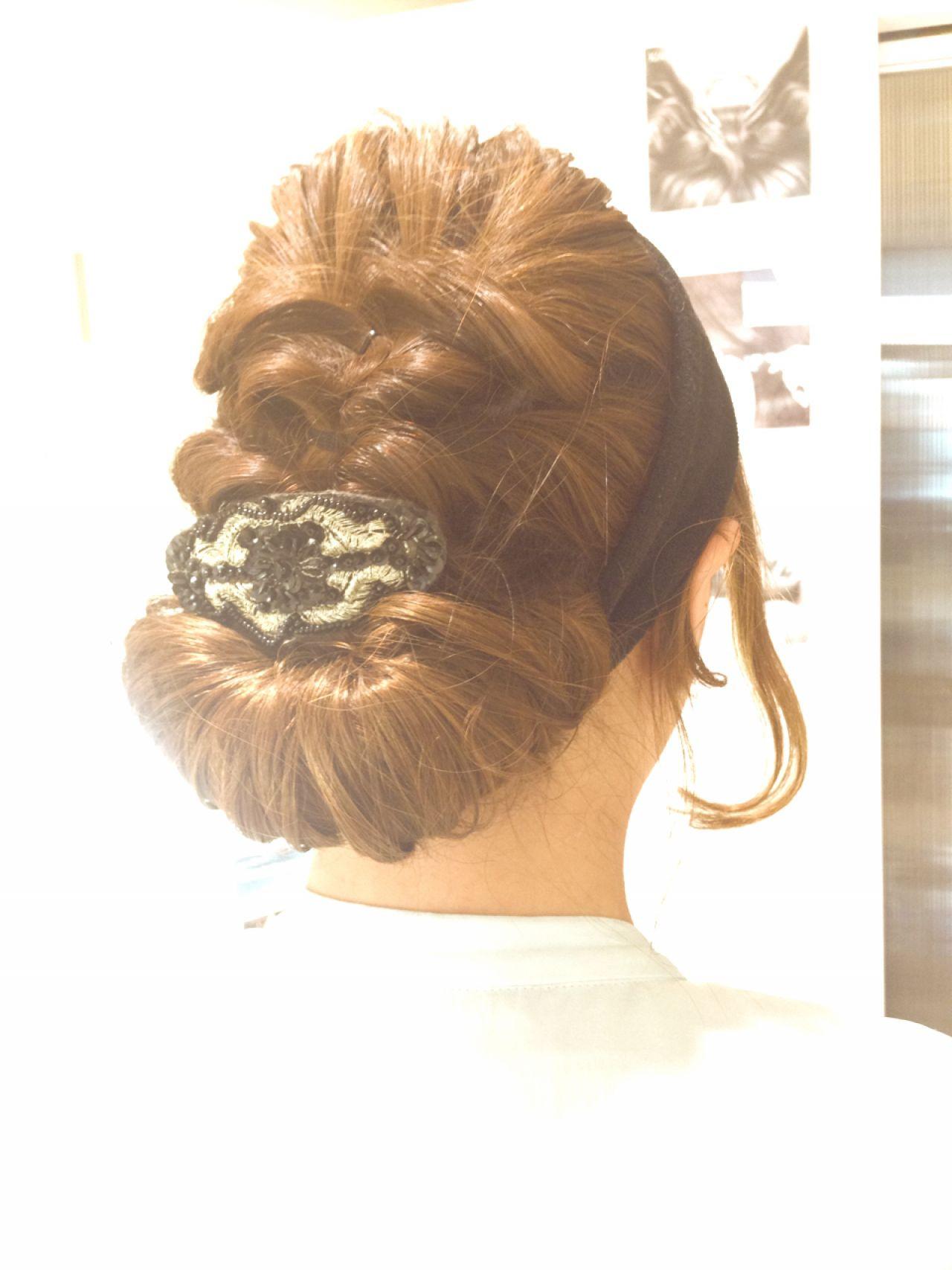 ヘアアレンジ 簡単ヘアアレンジ ルーズ ショート ヘアスタイルや髪型の写真・画像