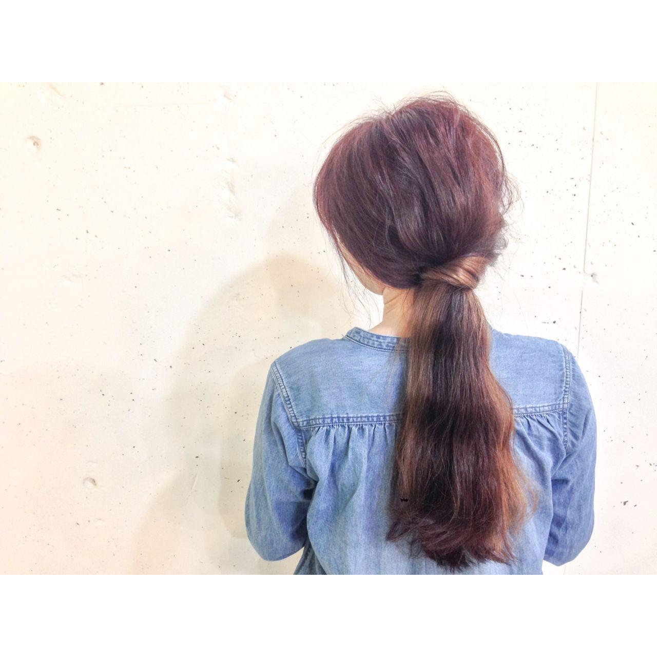 ストリート インナーカラー 春 ダブルカラー ヘアスタイルや髪型の写真・画像