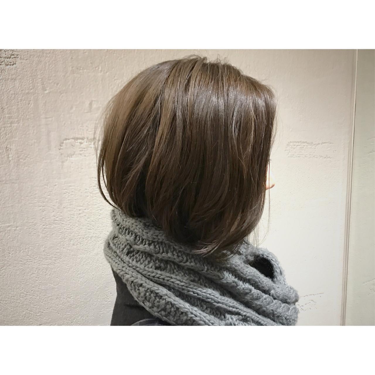 """40代のヘアスタイルは""""ボブ""""で凛とした美しさを手に入れよう 平田純也"""