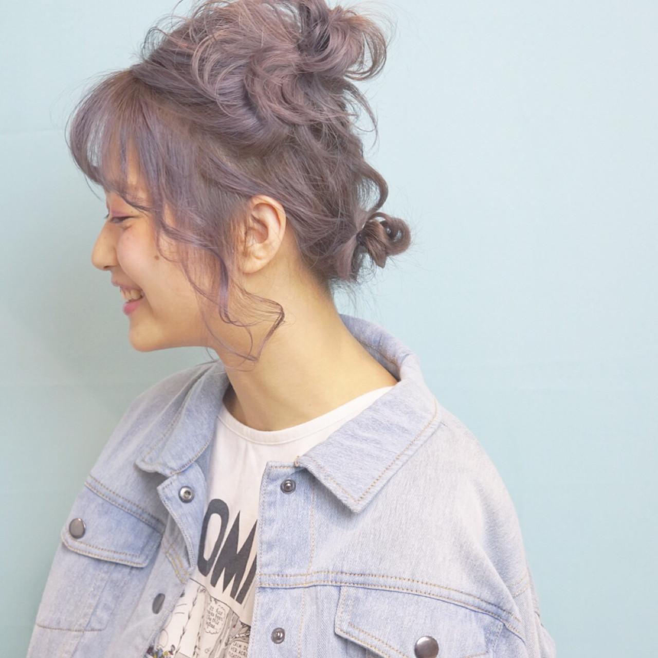 コンプレックスをかわいいに♡丸顔さんにおすすめの髪型アレンジ10選 山口 卓哉/EARTH
