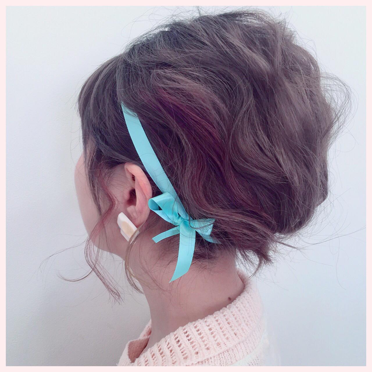 ショートだからこそかわいい♡ヘアバンドを使ったヘアアレンジ♪ melc / 望月 拓郎  melc