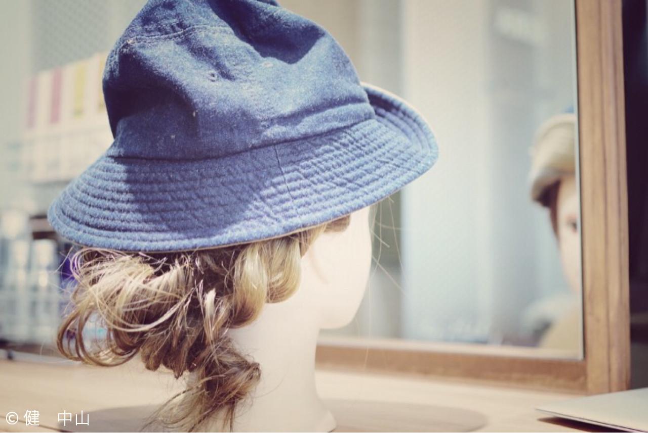セミロング ヘアアレンジ 大人女子 ショート ヘアスタイルや髪型の写真・画像