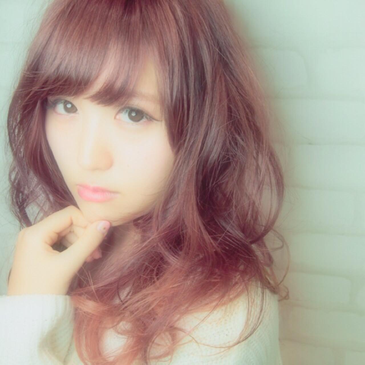かわいい♡色っぽい♡ピンクブラウンは女子にいいことづくしなヘアカラー♪ 小倉 翔太/Lien  ヘアサロン Lien
