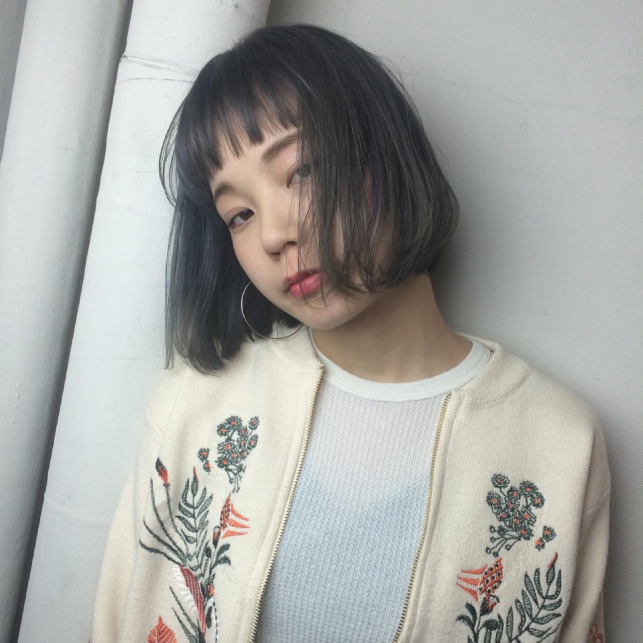 なりたいが叶う♡印象別黒髪ぱっつんボブスタイルを紹介! natsuki