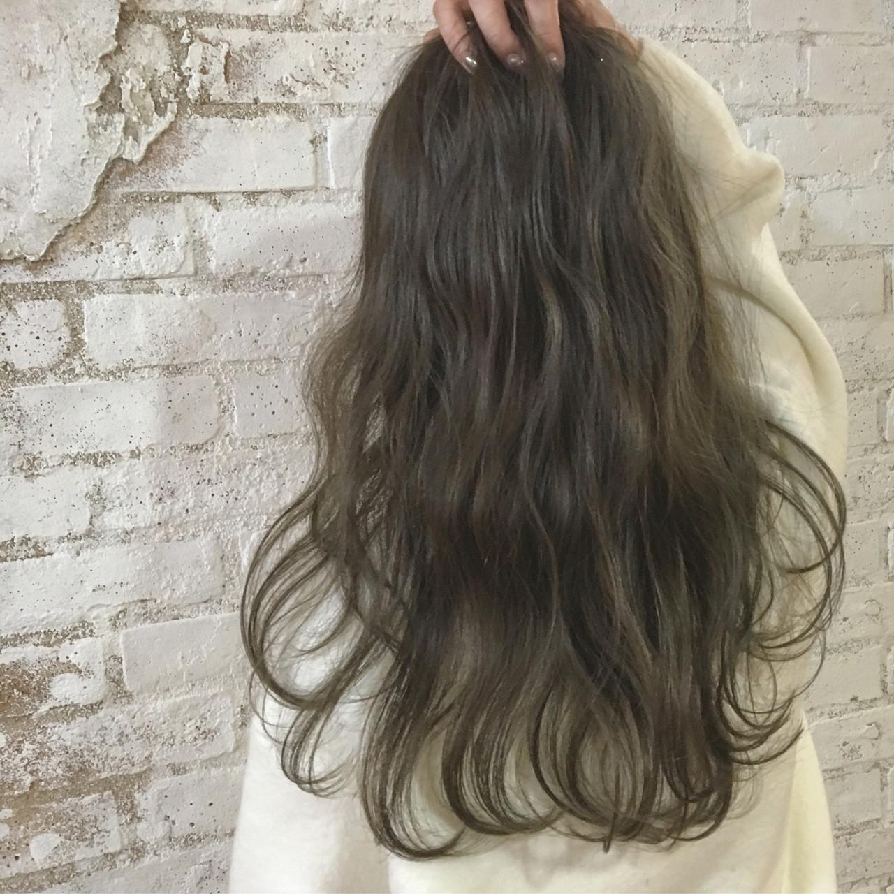 ゆるふわ ナチュラル 波ウェーブ 愛され ヘアスタイルや髪型の写真・画像