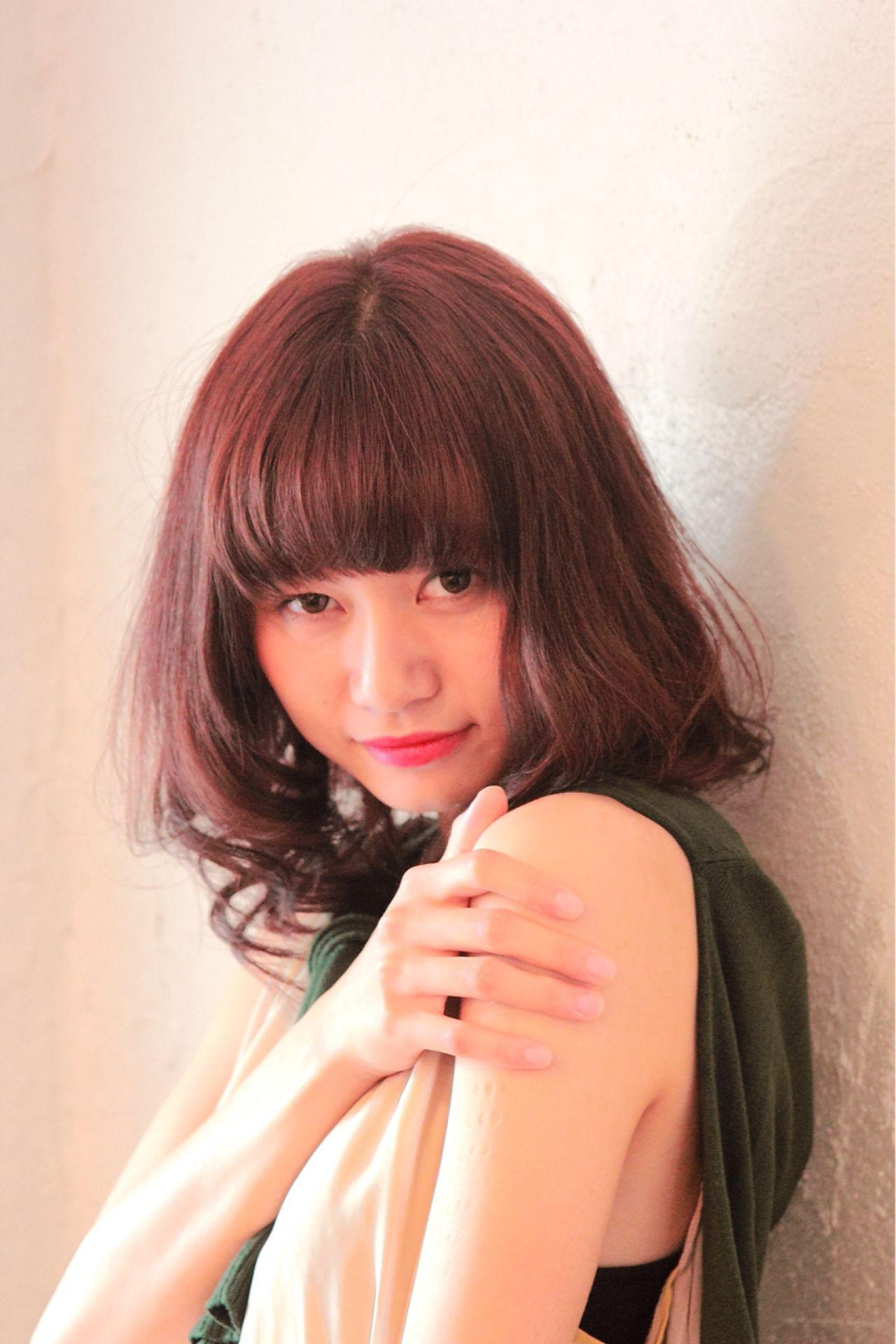 かわいい♡色っぽい♡ピンクブラウンは女子にいいことづくしなヘアカラー♪ Hiro  美容室Zac