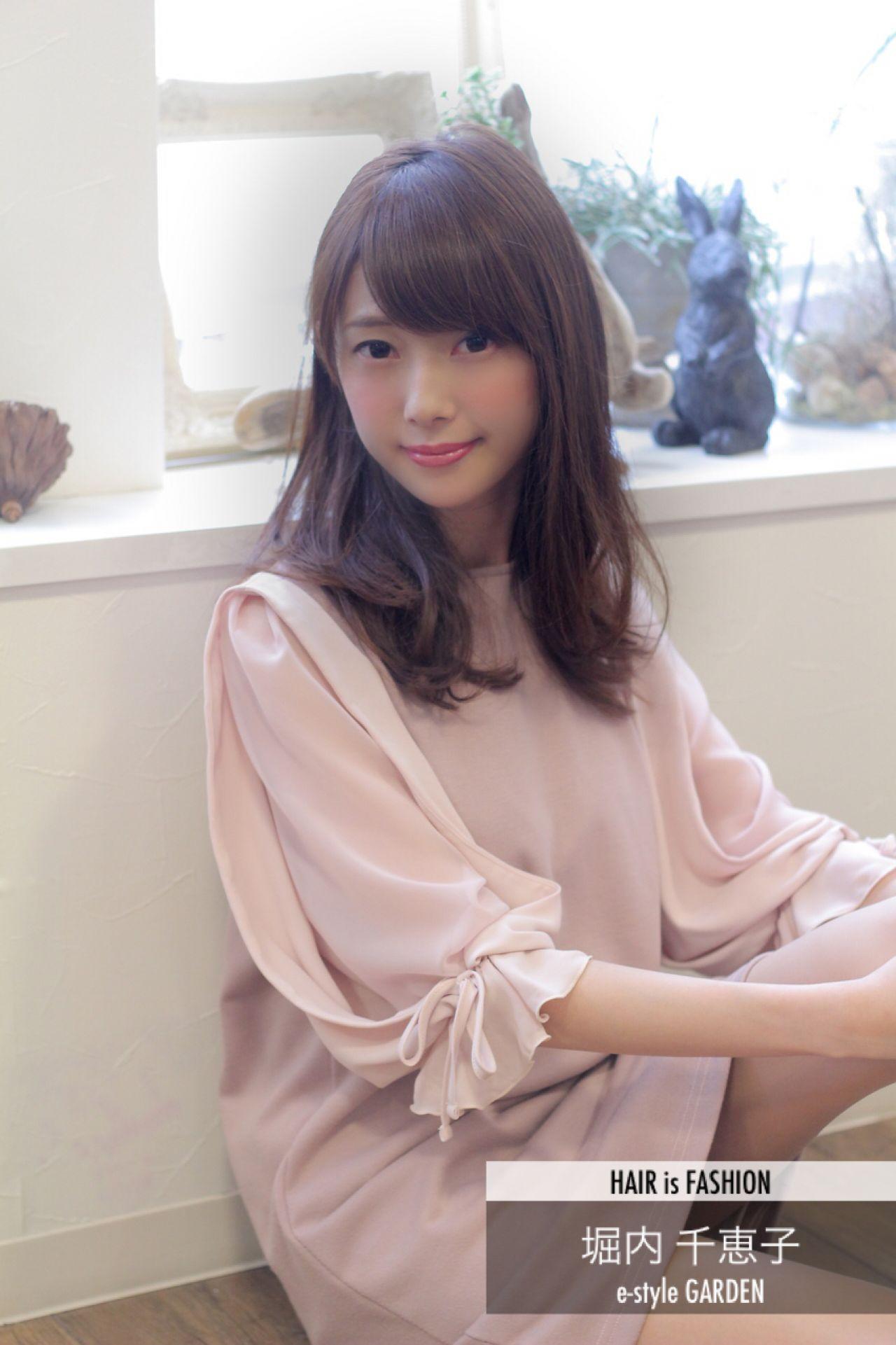 かわいい♡色っぽい♡ピンクブラウンは女子にいいことづくしなヘアカラー♪ 堀内 千恵子  e-style GARDEN
