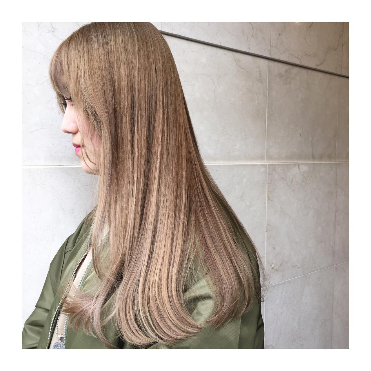 オトナが目指す外国人風ヘア♡ローライトでヘアスタイルに奥行きを… 西嶋えり子