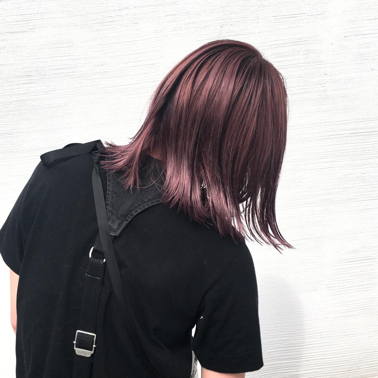 かわいい♡色っぽい♡ピンクブラウンは女子にいいことづくしなヘアカラー♪ 井上 拓耶  unite
