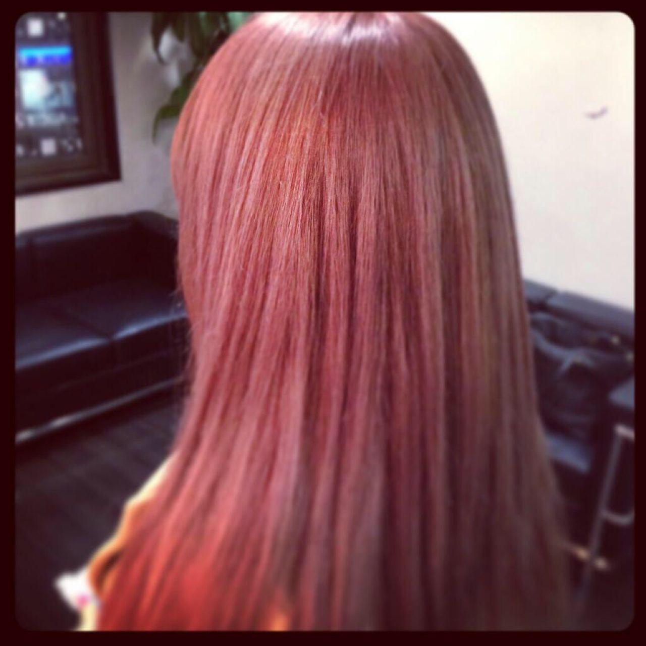 かわいい♡色っぽい♡ピンクブラウンは女子にいいことづくしなヘアカラー♪ 小野 英哉 クリリン