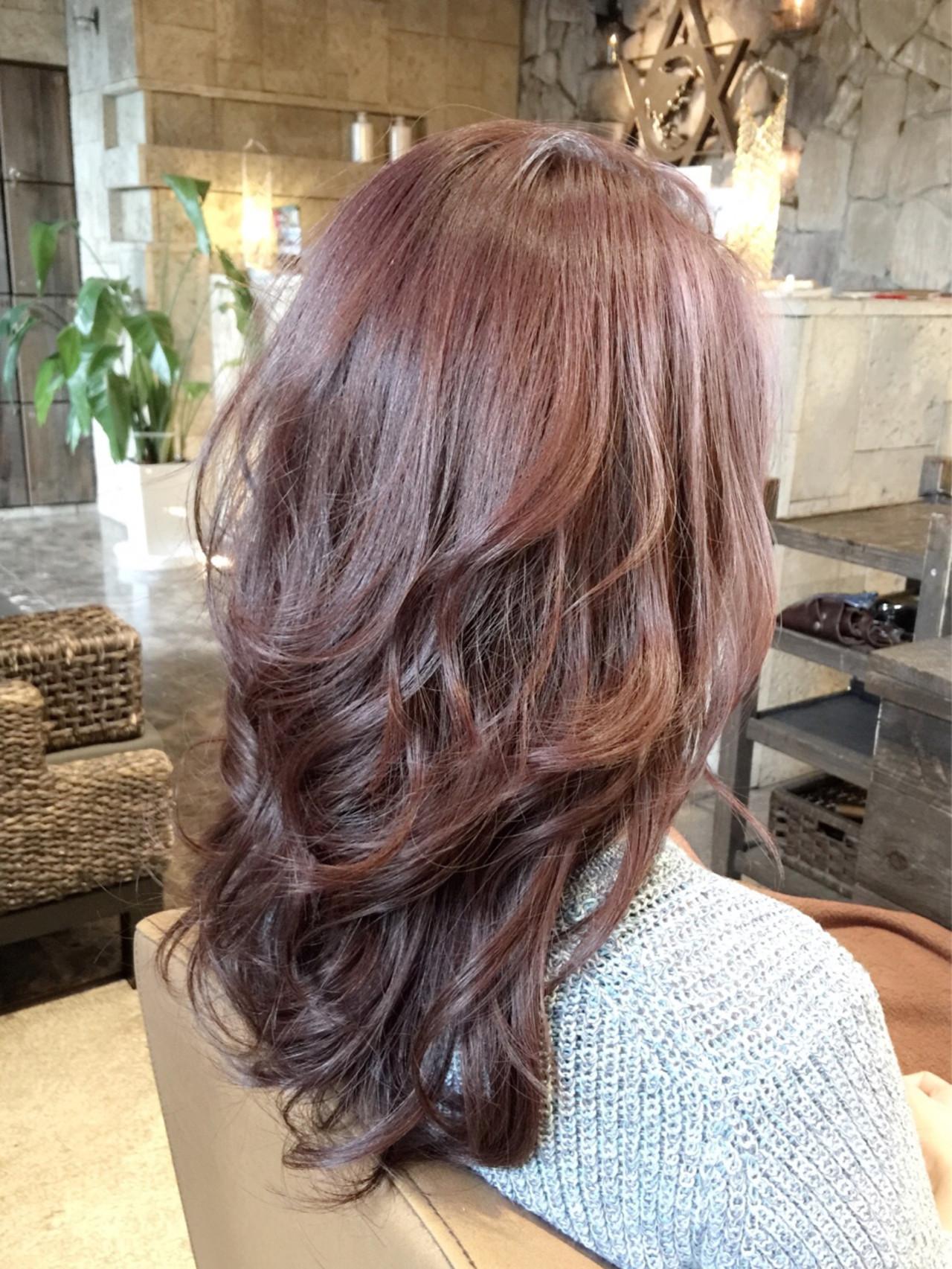 つや髪&透明感で女度アゲル注目カラー!ラベンダーブラウンってどんな色? 北嶋 彩乃