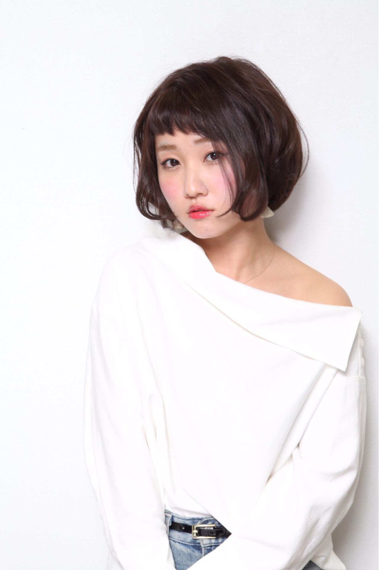 つい真似したくなる♡ショートカットに似合わせる前髪コレクション Ayumi