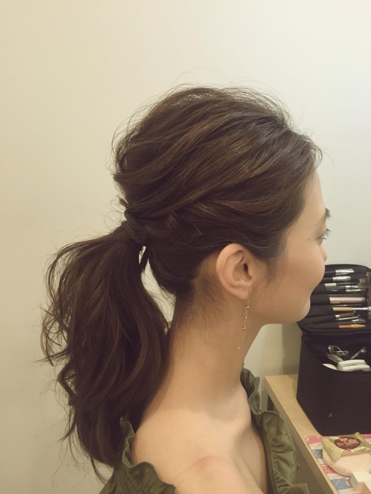 【初心者向け】簡単なのに凝ってみえる♡今旬のねじりヘアアレンジ KAUNALOA hair&make