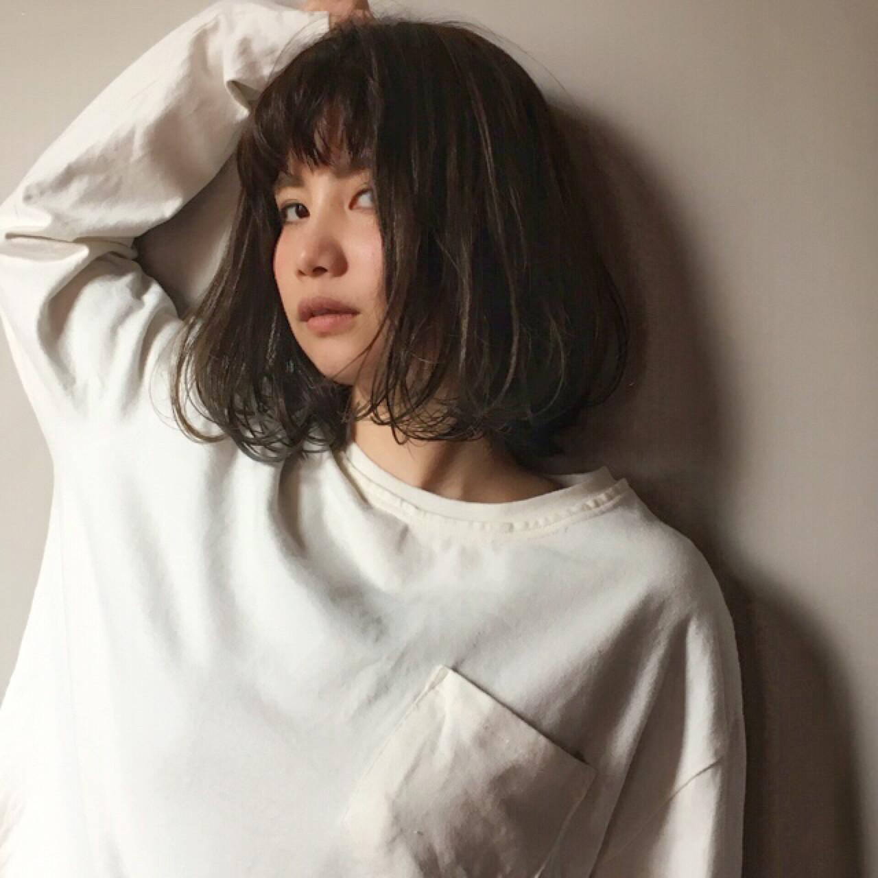なりたいが叶う♡印象別黒髪ぱっつんボブスタイルを紹介! 上川美幸