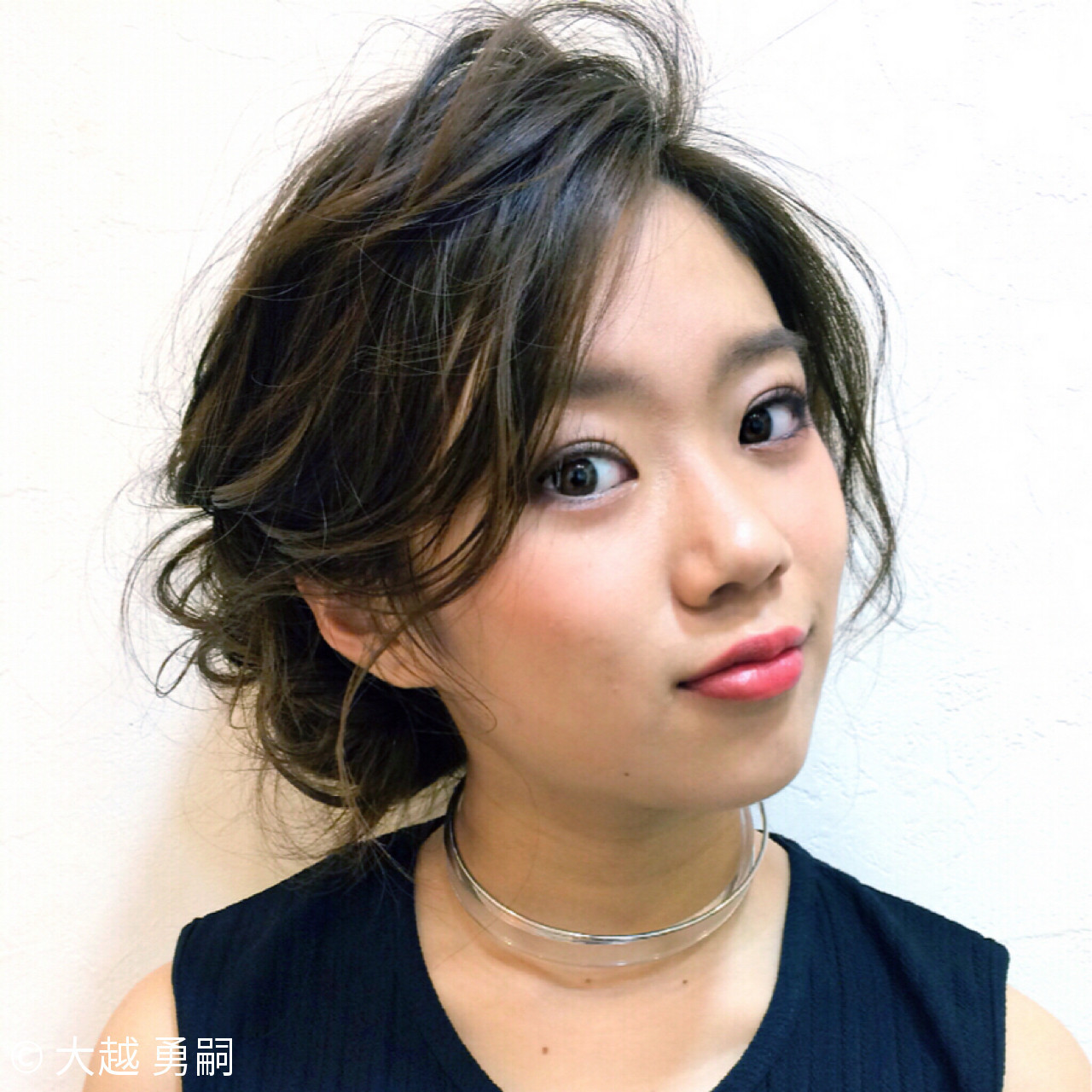 大人女子 ヘアアレンジ ギブソンタック シニヨン ヘアスタイルや髪型の写真・画像