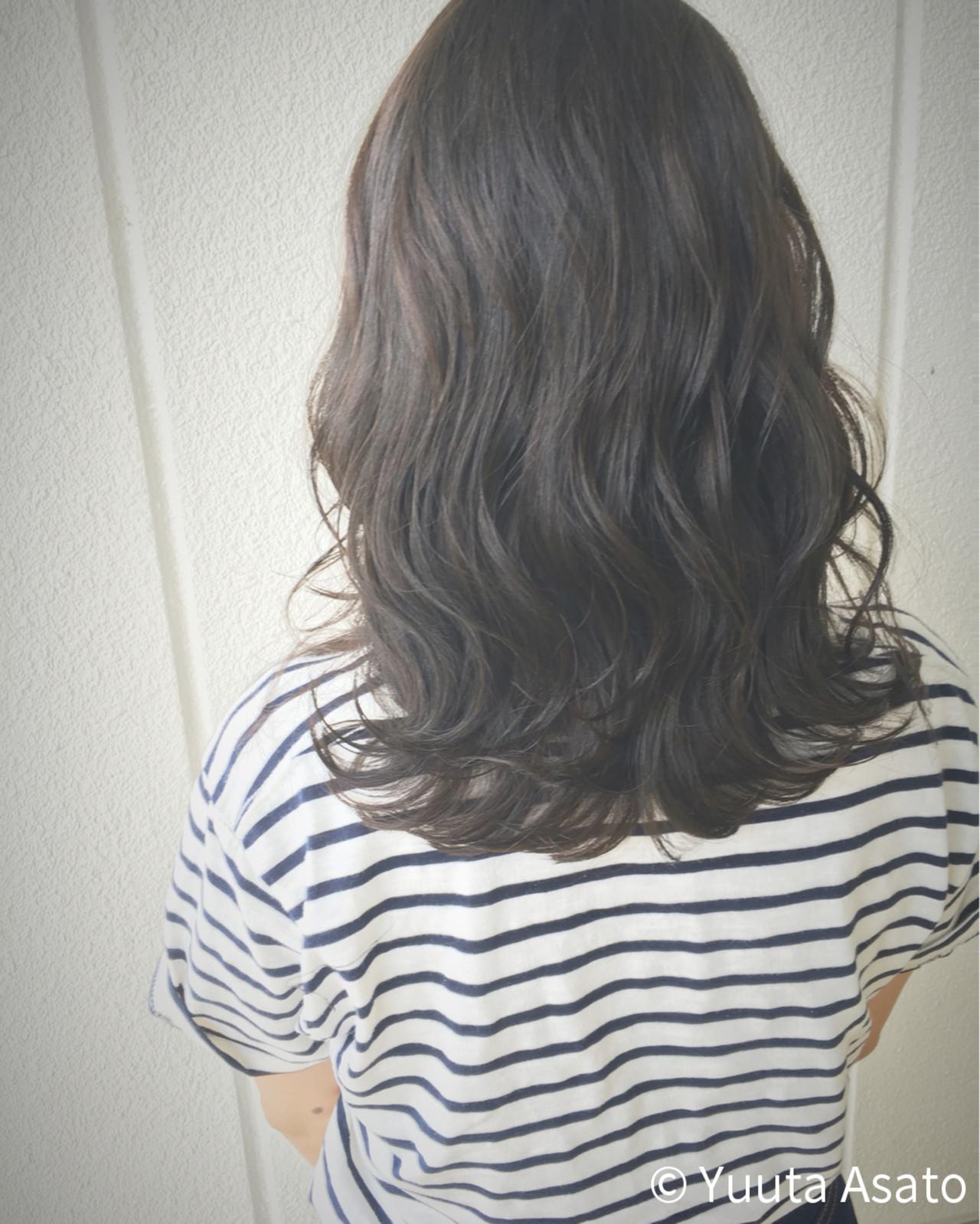 黒髪×ミディアム×パーマは色気たっぷりのおフェロスタイルに♡ Yuuta Asato